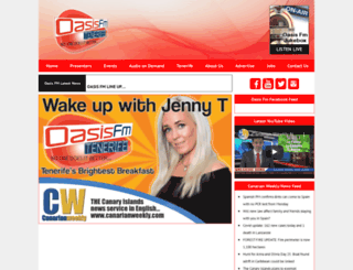 oasisfm.com screenshot