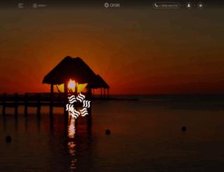 oasishoteles.com screenshot