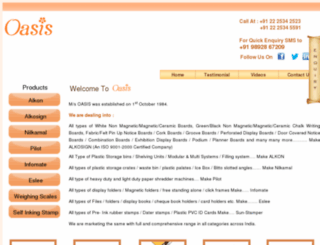 oasismumbai.net screenshot