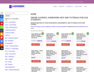 oassignment.com screenshot