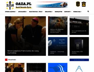 oaza.pl screenshot