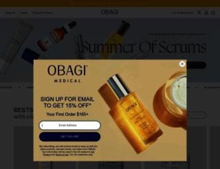 obagi.com screenshot