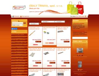 obaly.sk screenshot