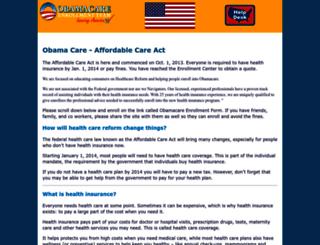 obama-care.us screenshot