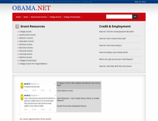 obama.net screenshot