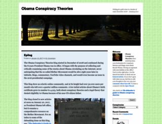 obamaconspiracy.org screenshot