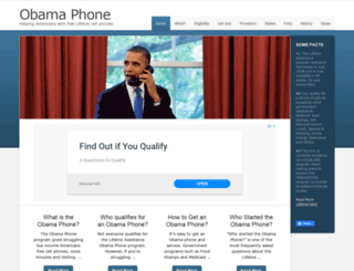 obamaphone.com screenshot