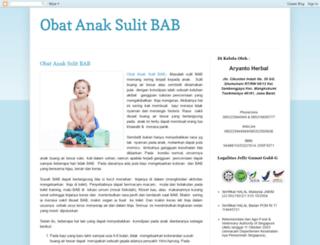 obatanaksulitbab.blogspot.com screenshot