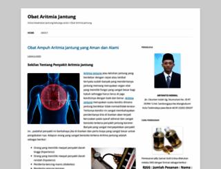 obataritmiajantung26.wordpress.com screenshot
