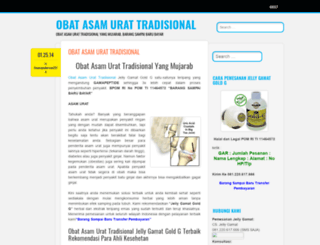obatasamurattradisional2014.wordpress.com screenshot