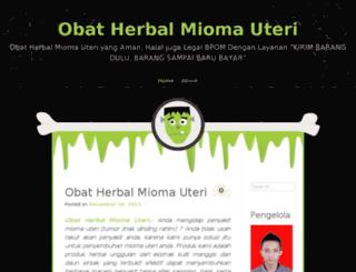 obatherbalmiomauterii.wordpress.com screenshot
