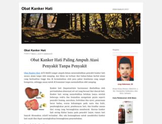 obatkankerhati4.wordpress.com screenshot