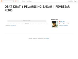 obatkuat-herbalpelangsing.blogspot.com screenshot