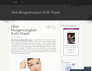 obatmengencangkankulitwajah.wordpress.com screenshot