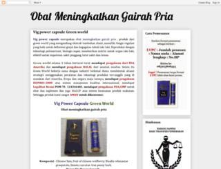 obatmeningkatkangairahpria.blogspot.com screenshot