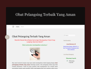 obatpelangsingtubuh123.wordpress.com screenshot