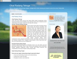obatradangtelinga4.blogspot.com screenshot