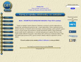 obchod.dhservis.cz screenshot