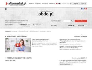 obdo.pl screenshot