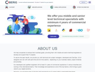 oberig.com screenshot