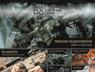 oberlandarms.com screenshot