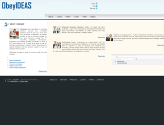 obeyideas.com screenshot