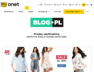 obiadek.blog.pl screenshot
