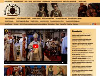 obispadoalcala.org screenshot