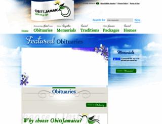 obitsjamaica.com screenshot