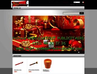 objet-cadeaux-publicitaires.com screenshot