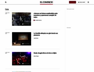 objetivoasturias.elcomerciodigital.com screenshot