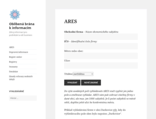access oblibena cz default web site page