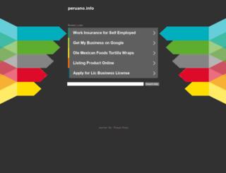 obras.peruano.info screenshot