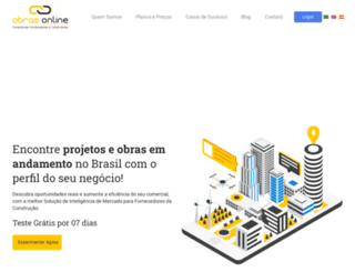 obrasonline.com.br screenshot