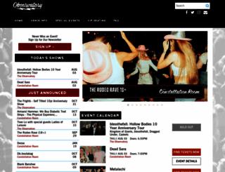 observatoryoc.com screenshot