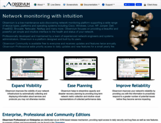 observium.org screenshot