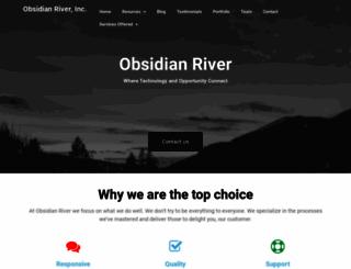 obsidianriver.com screenshot