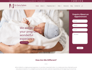 obstetricexcellence.com.au screenshot