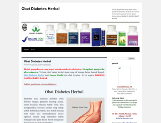 obtdiabetesherbal.wordpress.com screenshot