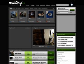 ocasky.cz screenshot