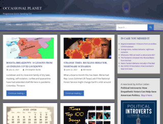 occasionalplanet.org screenshot