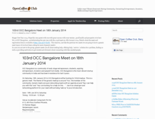 occbangalore.org screenshot