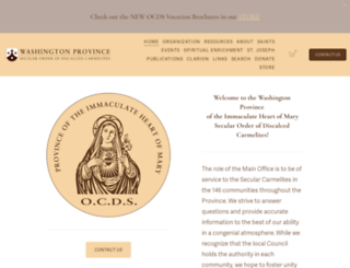 ocdswashprov.org screenshot