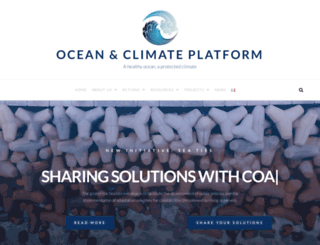 ocean-climate.org screenshot