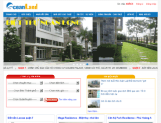 ocean-land.com.vn screenshot