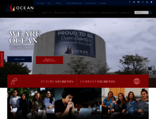 ocean.edu screenshot
