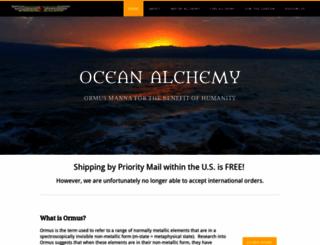 oceanalchemy.com screenshot