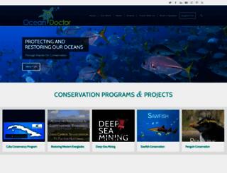oceandoctor.org screenshot