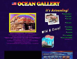 oceangallery.com screenshot