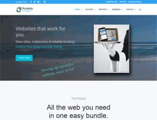 oceania.com.au screenshot